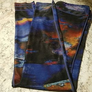 MPG galaxy exercise leggings